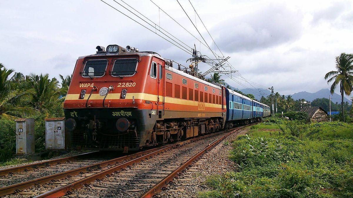 Indian locomotive class WAP-4 - Wikipedia