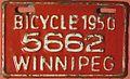 WINNIPEG MANITOBA 1950 -BICYCLE LICENSE - Flickr - woody1778a.jpg