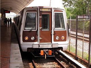Orange Line (Washington Metro) Washington Metro rapid transit line