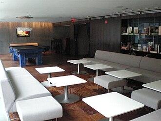 "Hotel on Rivington - The ""THOR"" bar inside the hotel."