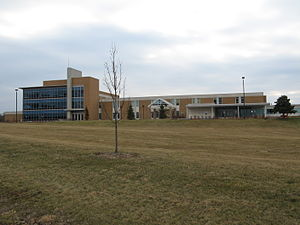 West Virginia University at Parkersburg - Main administrative building.