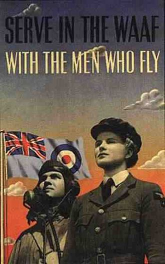 Women's Auxiliary Air Force -  WAAF Recruitment poster