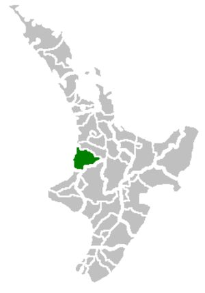 Waitomo District - Image: Waitomo Territorial Authority
