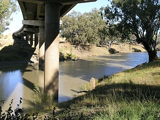 Castlereagh Highway - Image: Walgett Dick O'Brien Bridge