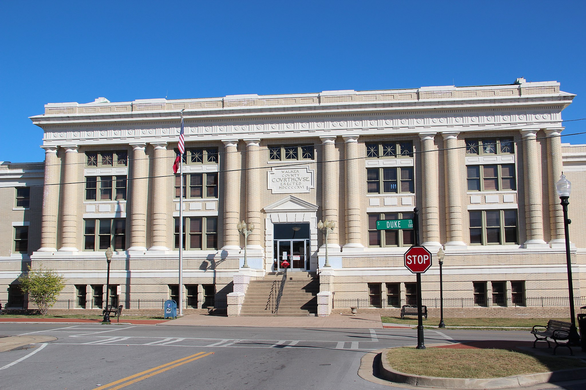 Walker County Courthouse, October 2016