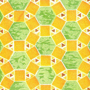 Rhombitrihexagonal tiling - Image: Wallpaper group p 6m 4