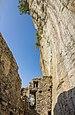 Waltensburg-Vuorz. Ruïne Burg Kropfenstein (Casti Grotta) (actm) 05.jpg