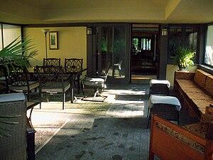 Walter V. Davidson House - Image: Walter V. Davidson House Sun Porch