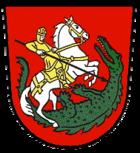 Das Wappen von St. Georgen im Schwarzwald