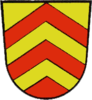 Wappen der Gemeinde Ostheim von 1964 bis 1974