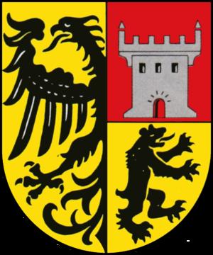 Burgbernheim - Image: Wappen der Stadt Burgbernheim