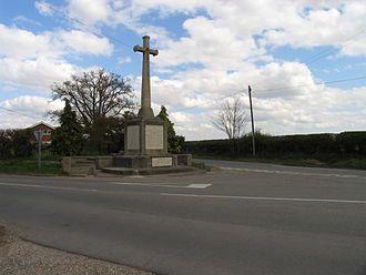 George Blackall Simonds - Image: War Memorial Southend Bradfield geograph.org.uk 2590