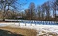 War cemetery for World war I in Marchtrenk, Upper Austria, Austria-russian section-field W-upper PNr°0645.jpg