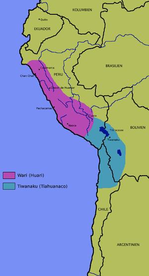 Cerro Baúl - Image: Wari Tiahuanaco