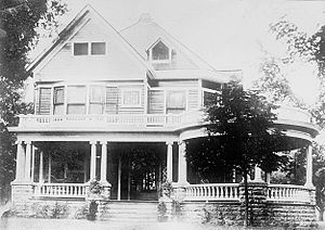 Harding Home - The Harding Home around the time of his 1920 election campaign