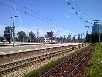 Warszawa Zachodnia station - Image: Warsaw West Railway Station