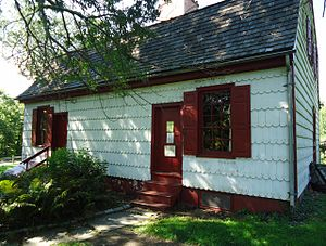 Washington Crossing State Park - The Johnson Ferry House.