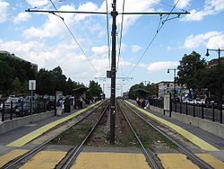 Washington Street MBTA station, Brighton MA.jpg