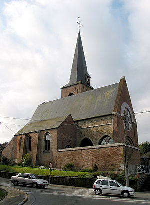 Wasmes - The church of Our Lady