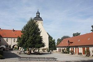 Egeln - Egeln Castle, courtyard