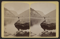 Water Gap Pa. Kittatinny Mountains, from Robert N. Dennis collection of stereoscopic views.png