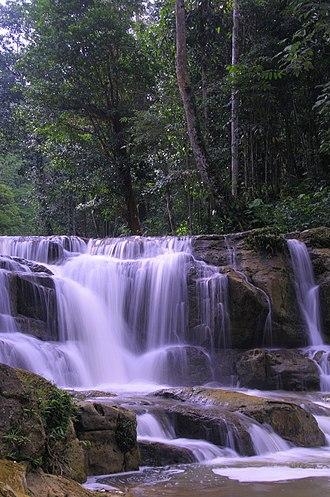 North Kalimantan - Image: Waterfall Idaman A