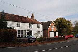 Withyham - Image: Weatherboarded Cottage, Withyham geograph.org.uk 1585843