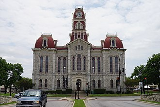 Weatherford, Texas - Parker County Courthouse, May 2017
