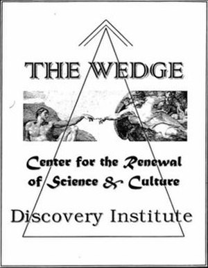 Wedge strategy - Cover of the Wedge Document.