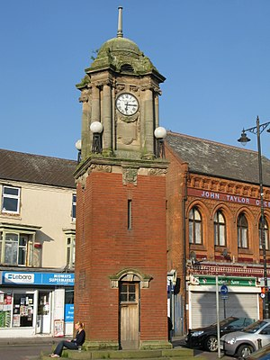 Wednesbury - Wednesbury Clock Tower, built for the coronation of George V
