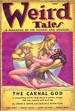 Weird Tales cover image for June 1937