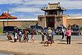 Wejście do klasztoru Erdene Dzuu 02.jpg