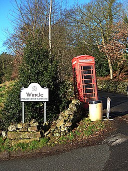Welcome to Wincle - geograph.org.uk - 680782