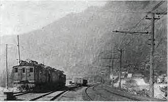 Wellington, Washington - Wellington depot before the avalanche