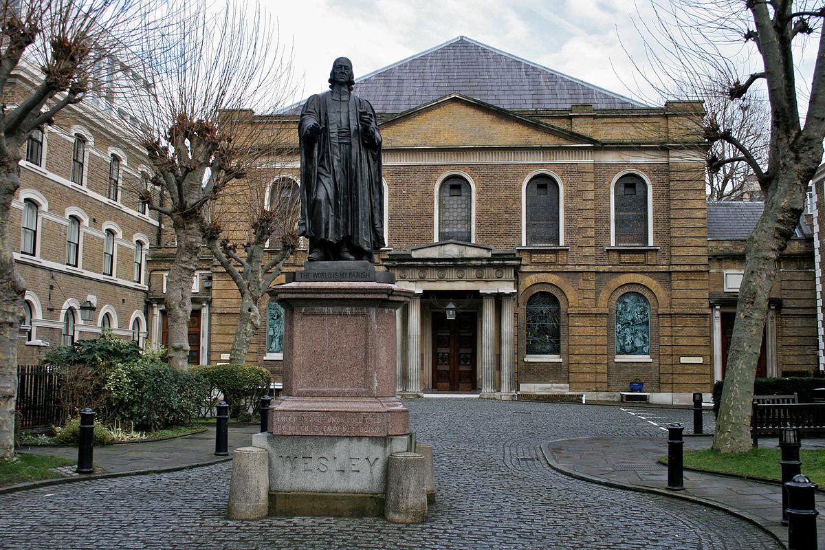Statue Of John Wesley Shoreditch Wikipedia