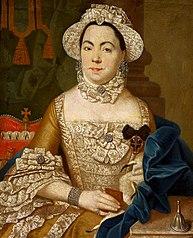 Portrait of castellaness Antonilla Grabowska née Woroniecka (d. 1786).