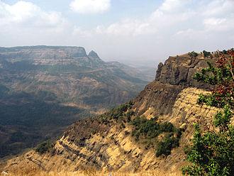 Deccan Traps - The Western Ghats at Matheran in Maharashtra