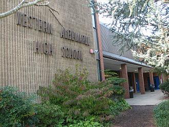 Western Albemarle High School - Front Entrance