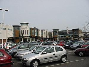 Westwood Cross - Image: Westwood Cross shopping centre geograph.org.uk 727923