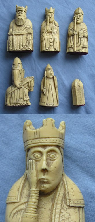 Harald Maddadsson - The Lewis chessmen, an iconic image of Scandinavian Scotland in Harald Maddadsson's time