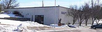 Wheeler County, Nebraska - Image: Wheeler County Courthouse (Nebraska) from NW
