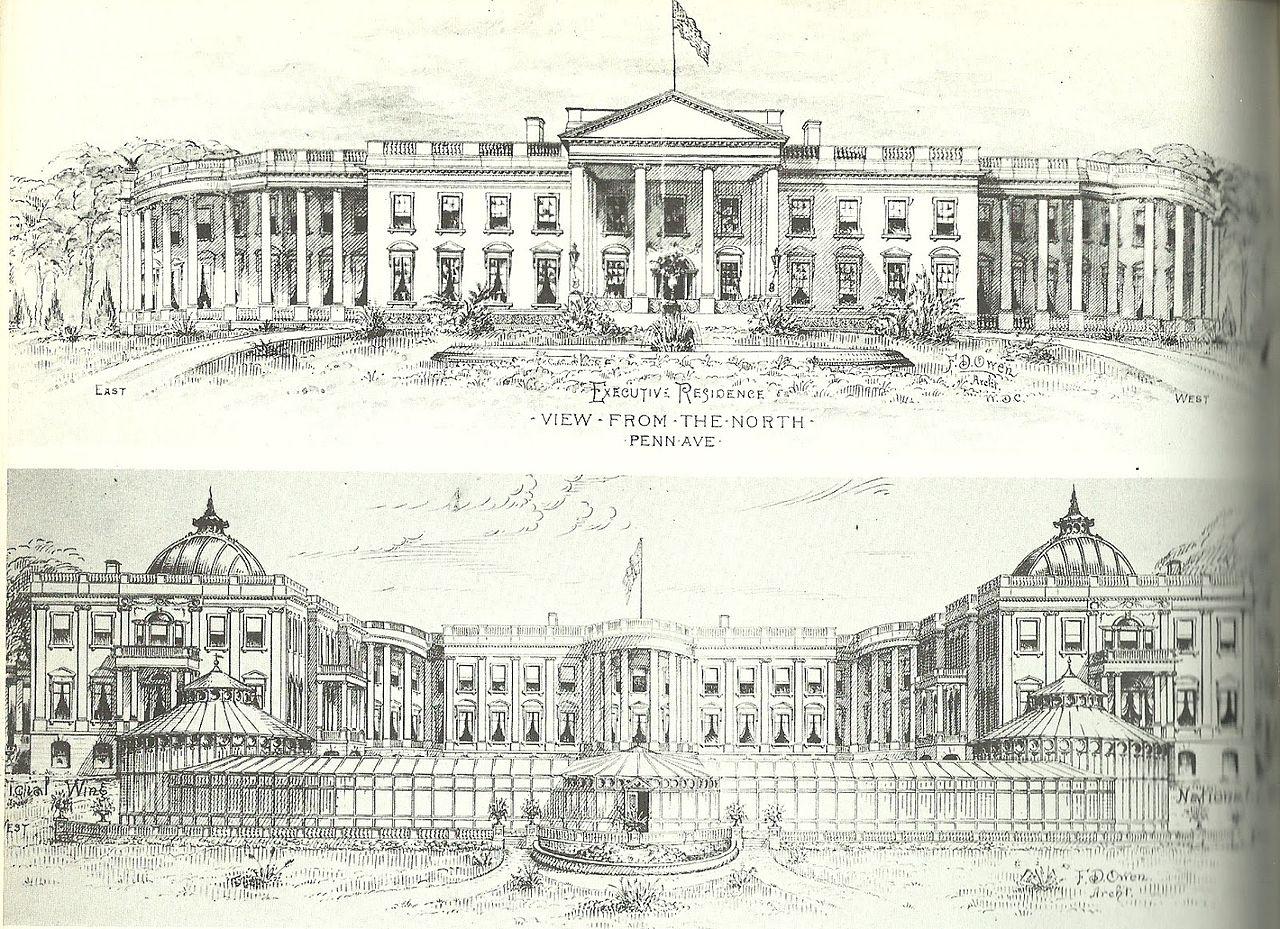File Whitehouseproposedaddition Jpg Wikipedia