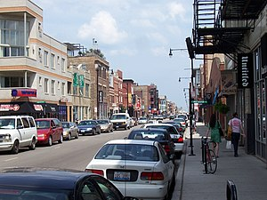 West Town, Chicago - View of North Avenue in Wicker Park