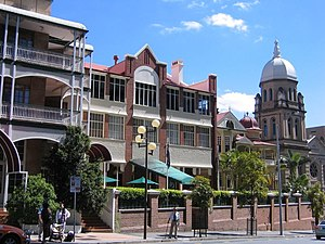 Spring Hill, Queensland - Wickham Terrace, the main street of Spring Hill