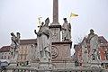 Wiener Neustadt, Mariensäule am Hauptplatz (1678) (25020868087).jpg