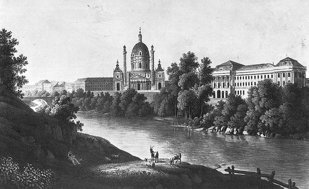 Река Вена 1024px-Wienfluss-1822