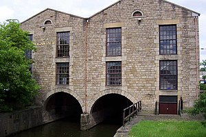 Wigan Pier - The original terminus of the canal, completed 1777