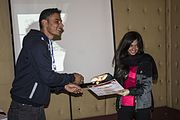 Wiki Loves Earth 2016 in Nepal Felicitation Program - December 05.jpg