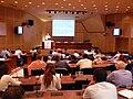 Wikimania 2008 Alexandria - E Senabre - Wiki and Politics - 19.jpg