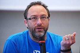 Jimmy Wales, co-founder of Wikipedia